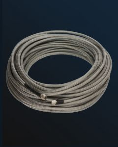 Low-Loss Armored N-Cable, 10m